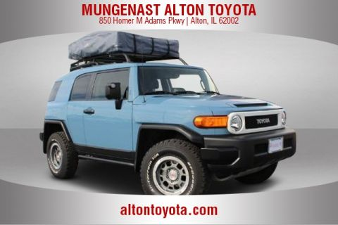 Certified Pre-Owned 2014 Toyota FJ Cruiser Base Trails Team Special Edition